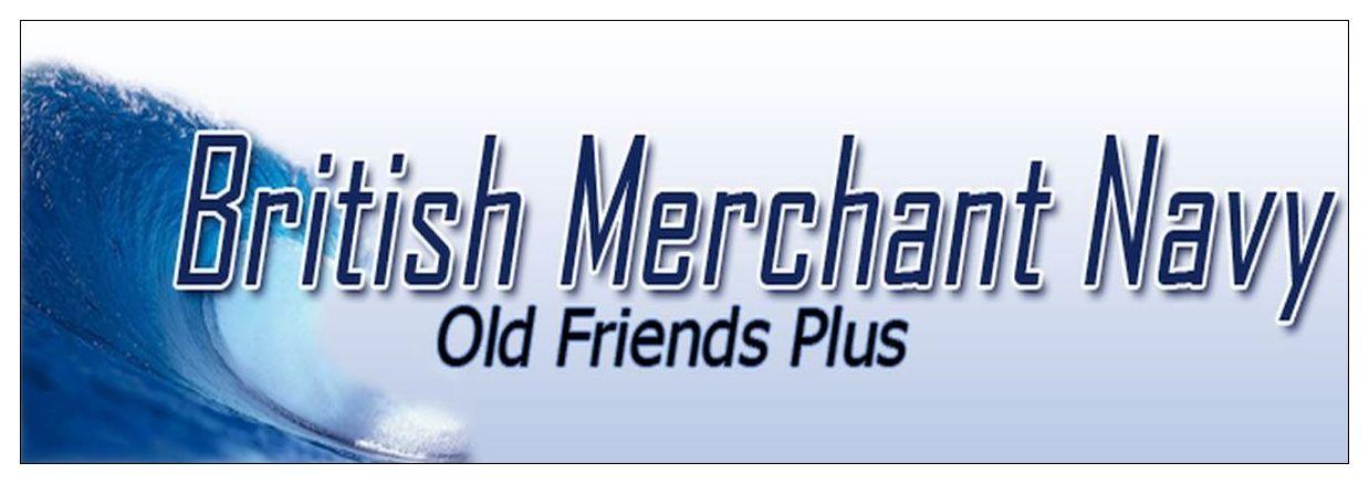The British Merchant Navy - Old Friends Plus Logo