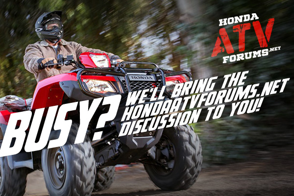 Fixing Electronic Shift (ES) problems | Honda ATV Forum